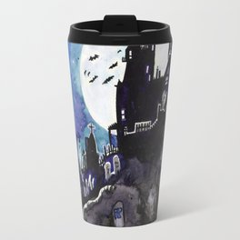 Spooky Mansion Travel Mug