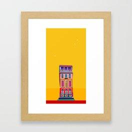 Manarola House, Cinque Terre, Italy Framed Art Print