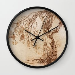 Hedgewitch Wall Clock