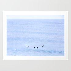 Bells Beach - in between sets Art Print