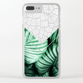 Geometric Composition 4 Clear iPhone Case