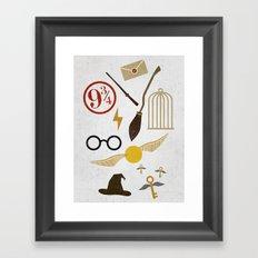 Minimalist Potter Framed Art Print