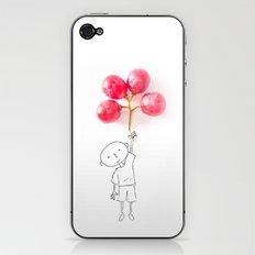 Grapes Ballons iPhone & iPod Skin
