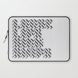 loose lips sink ships dazzle typography Laptop Sleeve