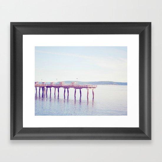 Ruston Way Framed Art Print