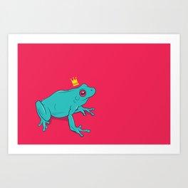 Frawg Art Print