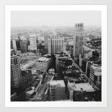 33rd Floor - Detroit, MI Art Print