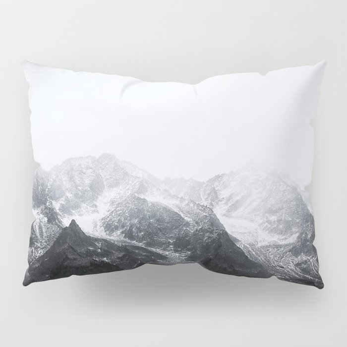 Morning in the Mountains - Nature Photography Pillow Sham