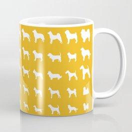 All Dogs (Gold) Coffee Mug