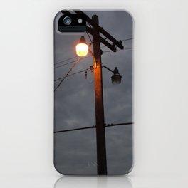 Telephone Lines iPhone Case
