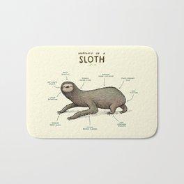 Anatomy of a Sloth Bath Mat