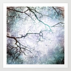 Listen To The Winter Trees Art Print