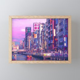 Osaka Citypop Framed Mini Art Print