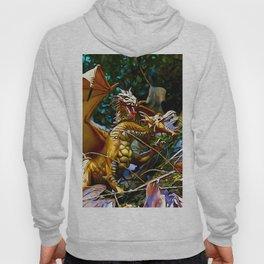 Golden Dragons Nest Hoody