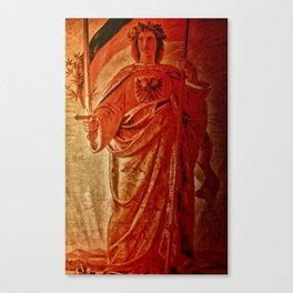 Germanic Statue Canvas Print