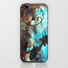 Dreamcatcher (blue) iPhone & iPod Skin