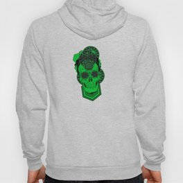 Bursting Geo Skull Hoody