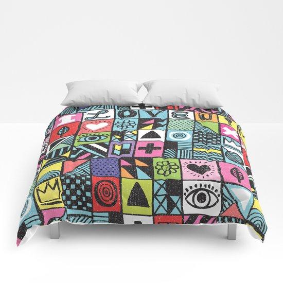I LOVE U! Comforters