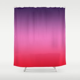 Carriacou - Classic Colorful Abstract Minimal Modern Summer Style Color Gradient Shower Curtain
