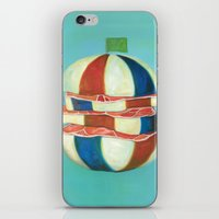 dragon ball iPhone & iPod Skins featuring Ball by colorlabo