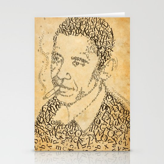obama in the font of times 02 Stationery Cards