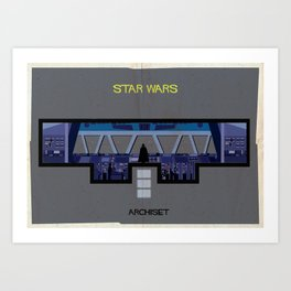 Star wars_ Directed by George Lucas Art Print