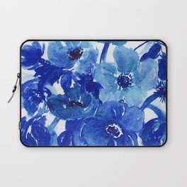 blue stillife Laptop Sleeve