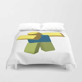 Coolest Roblox Dab Cool Duvet Cover