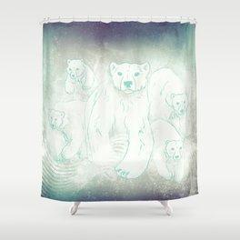 Spirit Bears Shower Curtain