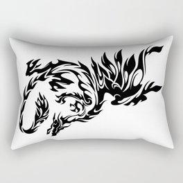 Tribal Dragon Rectangular Pillow