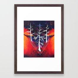 Trees pt. 2 Framed Art Print