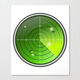 Submarine / Battleship Radar Detector Canvas Print