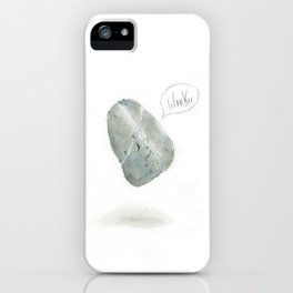 Abusive Stone - Wanker iPhone Case