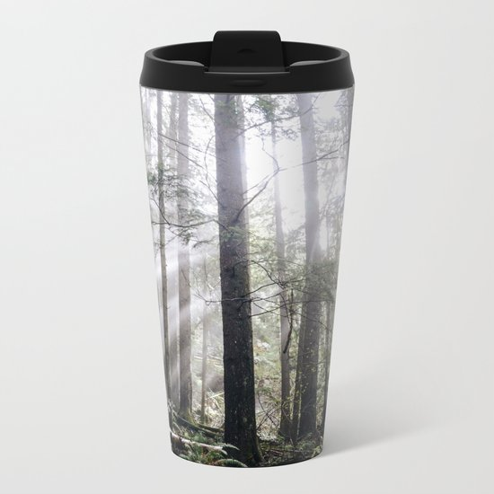 Heart of the Wild Metal Travel Mug