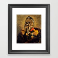 Portrait of Master Chewie Framed Art Print