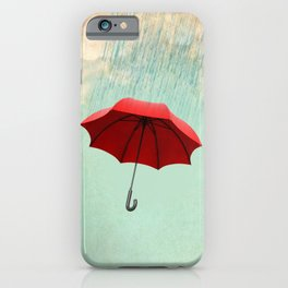 Chasing clouds iPhone Case