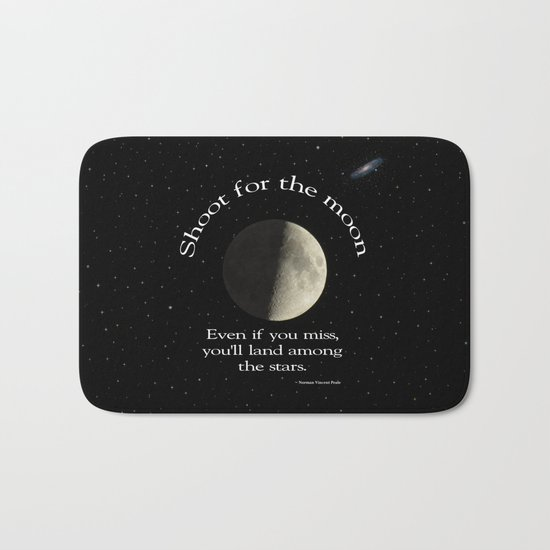 Shoot For The Moon Bath Mat
