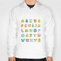 alphabet Hoodies featuring alphabet by lalehan canuyar