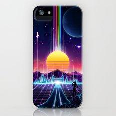 Neon Sunrise Slim Case iPhone SE