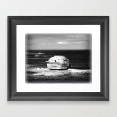 Gigantic Rock Framed Art Print