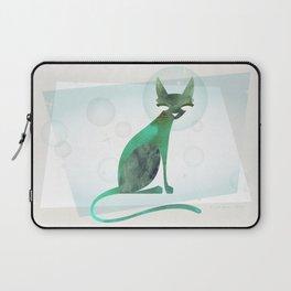 Mid-Century Feline Laptop Sleeve