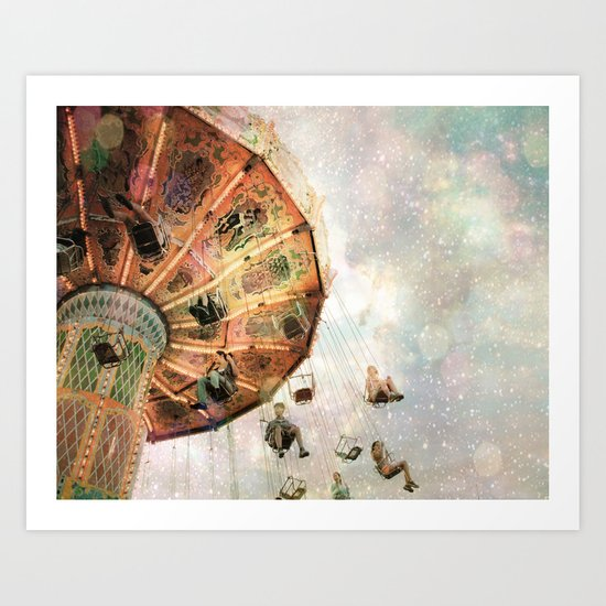A Carnival In the Sky III Art Print