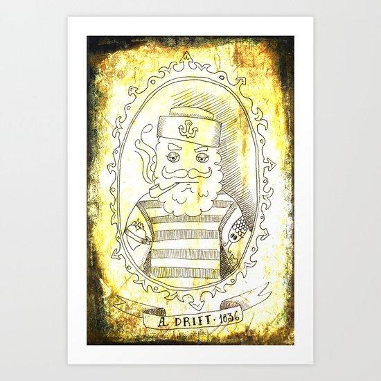 A. Drift 1836 Art Print