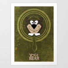 Yogi Time. Art Print