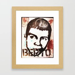 Berto Dreams of Berto Framed Art Print