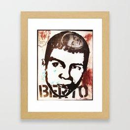 Berto Dreams of Berto Framed Art Print