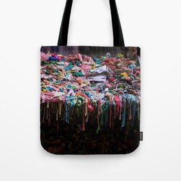 The Gum Wall, Seattle Tote Bag