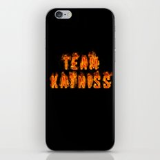 Team Katniss iPhone & iPod Skin