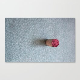 Wine cork Canvas Print