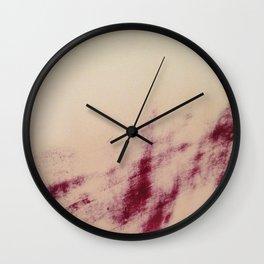 Ruby Slipper Wall Clock